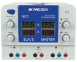 BK Precision 1672 and 1673 Quad Display Triple Output DC Power Supplies
