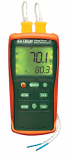 Extech EA10 EasyView Dual Input Thermometers