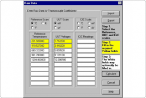 Fluke Calibration 9933 TableWare v3 - Temperature Calibration Software